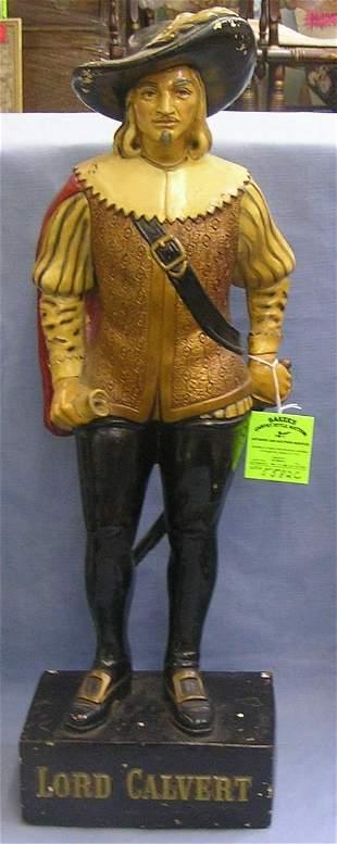 Antique Lord Calvert advertising figure