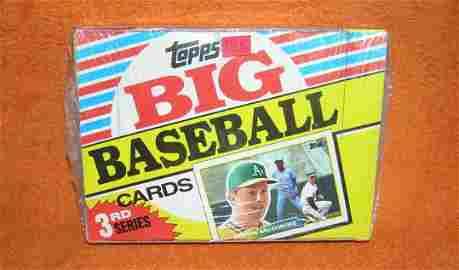 Topps 1988 Big Baseball cards unopened box