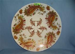 Lenox burnished amber decorative bowl