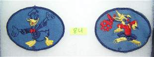 Pair of high quality Disney cloth patches
