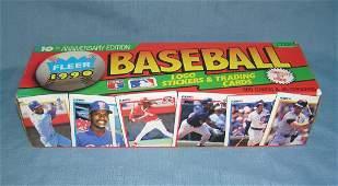 Fleer 1990 factory packed baseball card set