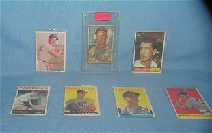 Early baseball card collection