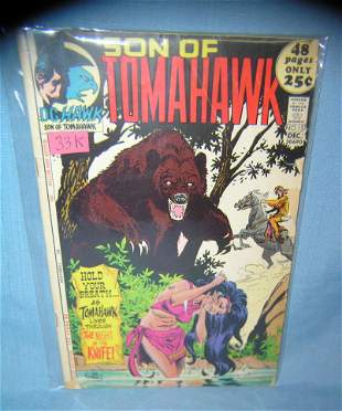 Early Son of Tomahawk comic book