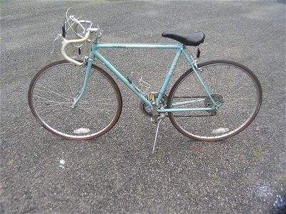 Vintage Schwinn world ten speed bicycle circa