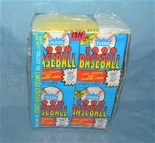 Fleer 36 pack baseball card box