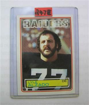 Lyle Alzado Vintage football card