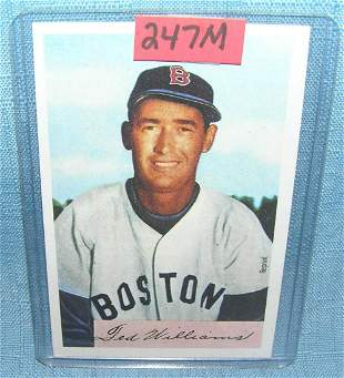 Ted Williams Bowman reprint Baseball card