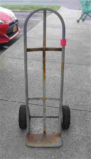 All metal air tires hand truck