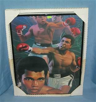 Muhammad Ali limited edition boxing photo