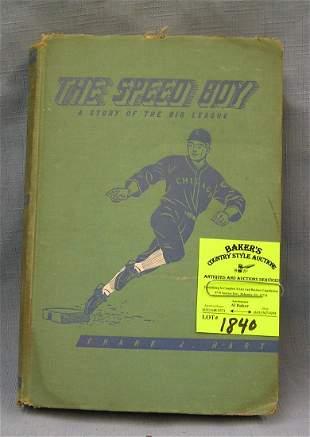 The Speed Boy vintage baseball book
