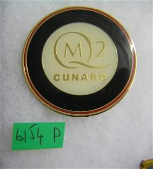 QM2 Cunard advertising promotional magnet