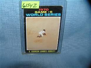 Brooks Robinson 1975 all star baseball card