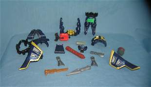 Vintage action figure parts and/or transformer parts