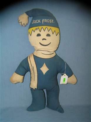 Vintage Jack Frost advertising figure