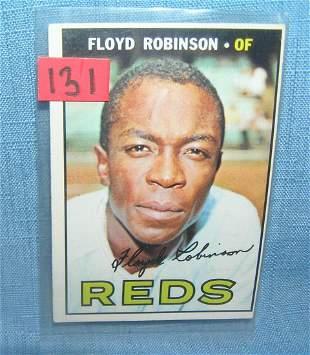 Floyd Robinson 1967 Topps all star baseball card