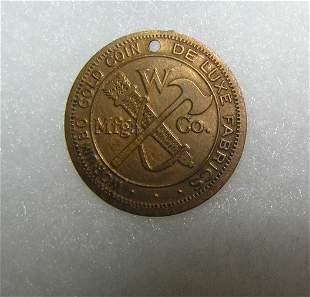Worumbo fabric advertising sales company token