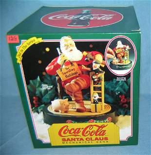 Vintage Coca Cola mechanical bank