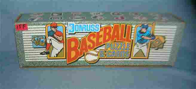 1990 Donruss factory packed baseball card set