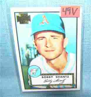 Bobby ShantzTopps archives baseball card