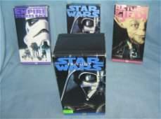 Vintage Star Wars trilogy movie set