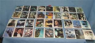 Star Wars card set complete set of 36 cards