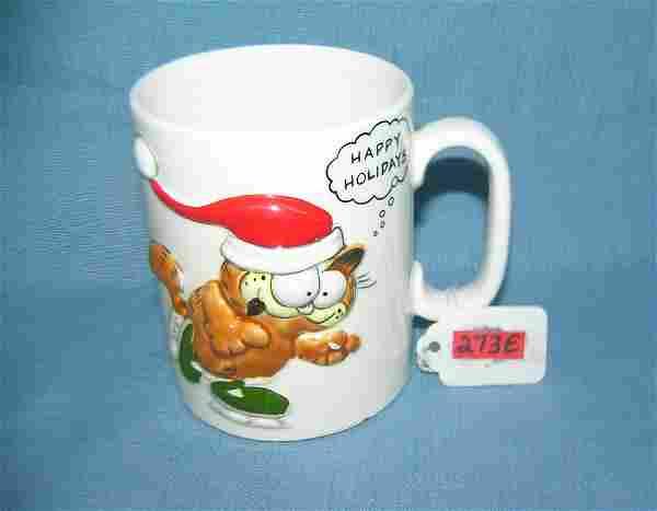 Vintage Garfield holiday mug