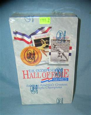US Olympic Hall of Fame collector cards