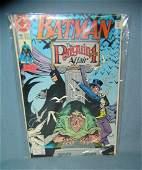 Large group of vintage Batman comic books mint old