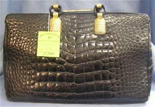 Very high quality Judith Leiber leather handbag