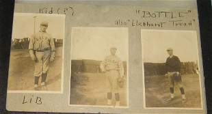 Early Colby College baseball player photos