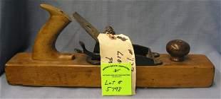 Antique liberty bell wood plane