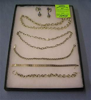 Vintage sterling silver and silver plate jewelry