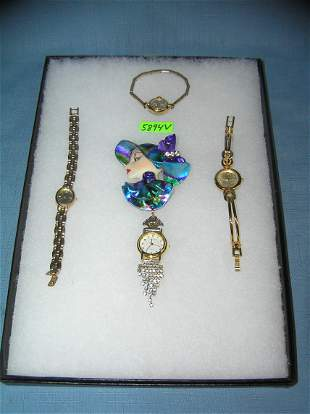 Nice collection of costume jewelry watches