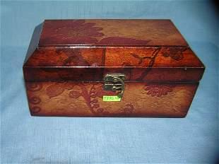 Quality decorated jewelry/trinket box
