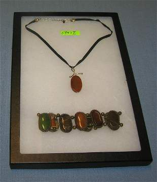 Quality costume jewelry necklace and bracelet group