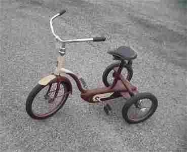 Antique 3 wheel tricycle