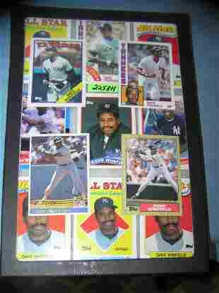 Vintage David Winfield all star baseball cards