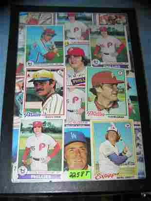 Group of former NY Mets all star baseball cards