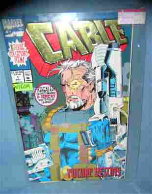 Cable first edition signed with COA