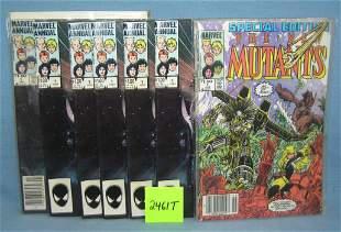 Marvel The New Mutants comic books