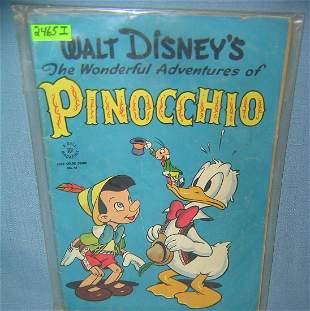 Disney the adventures of Pinocchio comic book