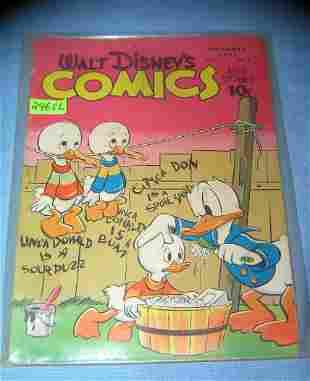 Disney comics and stories 10 cent comic book