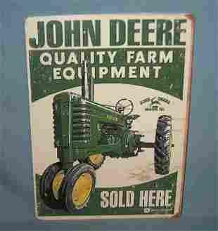 John Deere Quality Farm equipment retro style