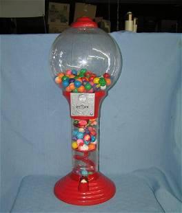 Modern free standing gum ball machine