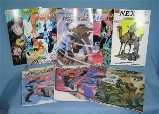 Group of vintage Nexus comic books