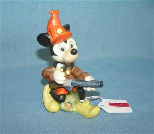 Early Mickey Mouse hand painted figurine Goebel