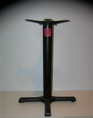Great cast iron table base