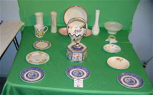 Large group of vintage porcelain and china