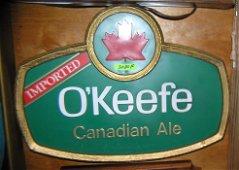 Vintage O'Keefe Canadian Ale wall display piece