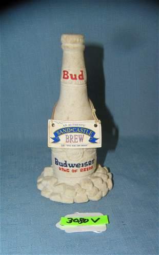 Vintage Budweiser prototype beer display piece